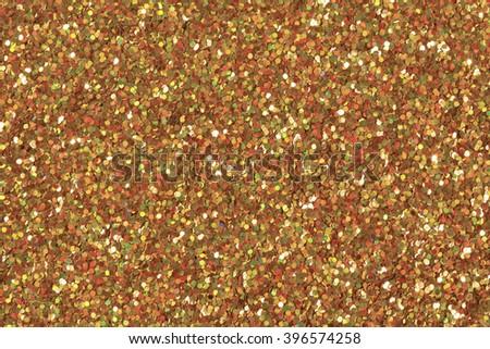 Glitter makeup powder texture. Low contrast photo. - stock photo