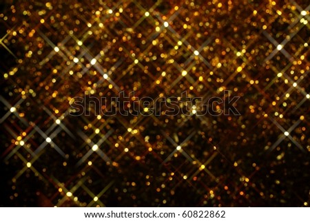 Glitter of color lighting background - stock photo