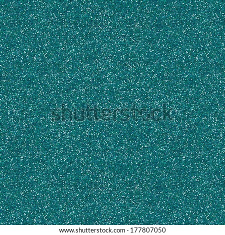 Glitter Texture Background In Dark Turquoise Color