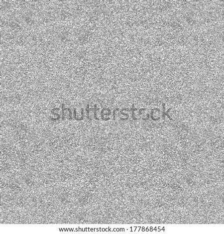 Glitter texture background in light silver color  - stock photo