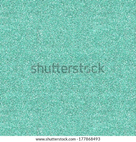 Glitter Texture Background In Light Turquoise Color