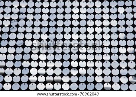 Glittering circles - stock photo