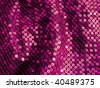 Glittering 80s style sequined surface closeup. More of this motif & more sequins in my port. - stock photo