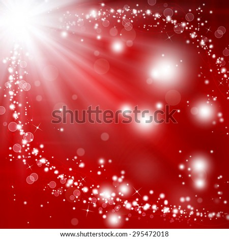 glittery festive fantasy, background bokeh