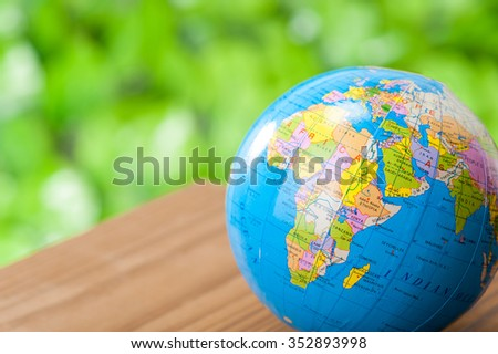 Global, business image - stock photo