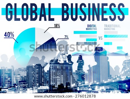 Global Business Marketing International Corporate Concept