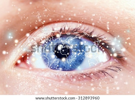 Global business vision. - stock photo
