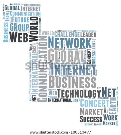 Global Business word cloud