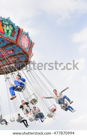 Much you carnival ride the swinger think this woman