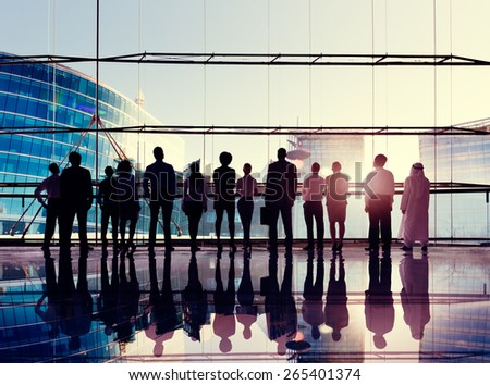 Global Corporate Business Team Vision Mission Concept - stock photo