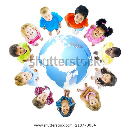 Global education - stock photo