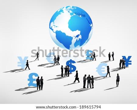Global Financial Group - stock photo