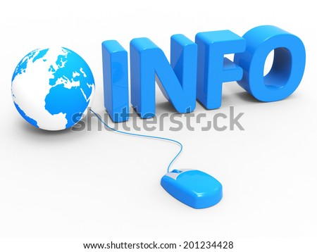 Global Info Representing World Wide Web And Web Site