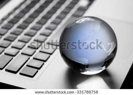 Global & international business concept - stock photo