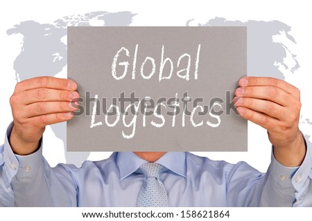 Global Logistics - stock photo