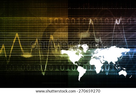 Global Technology Solutions as a Development Center - stock photo