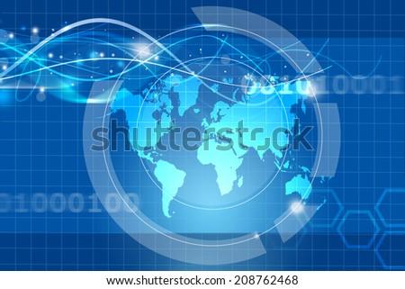 global trade concept - stock photo