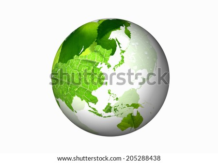 Globe And Fresh Green