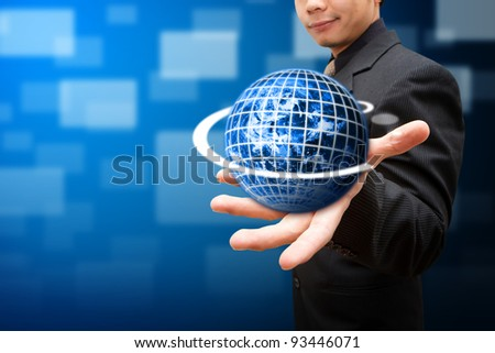 Globe on the Smart hand