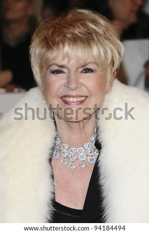 Gloria Hunniford arriving for the National Television Awards, O2, London. 25/01/2012 Picture by: Steve Vas / Featureflash