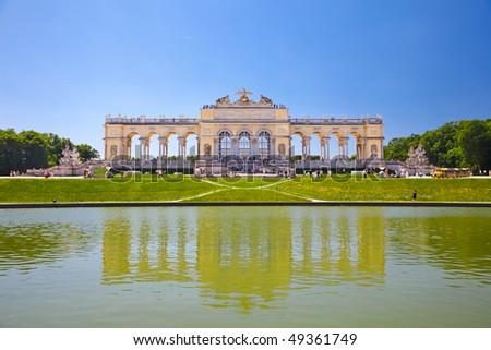 Gloriette, Schonbrunn Palace, Vienna, Austria - stock photo