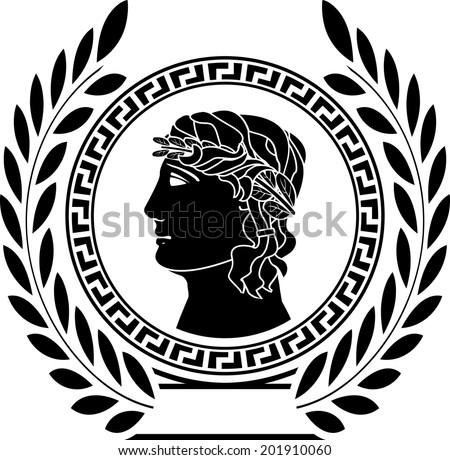 Glory Ancient Greek Man First Variant Stock Illustration 201910060