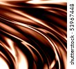 glossy chocolate waves - stock photo