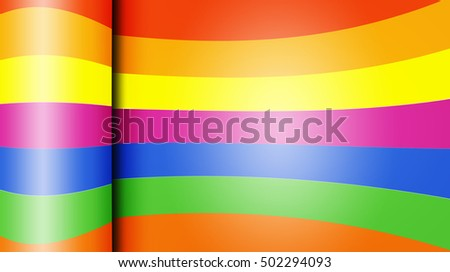 Glossy colorful paper abstract design background