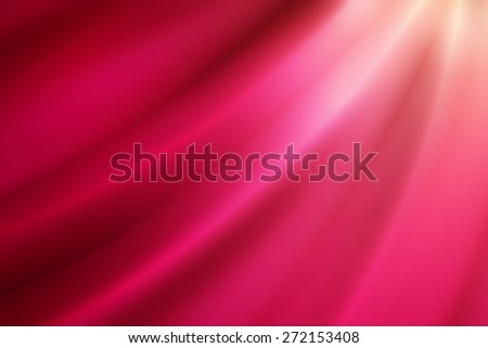 glossy line on gradient color abstract background - stock photo