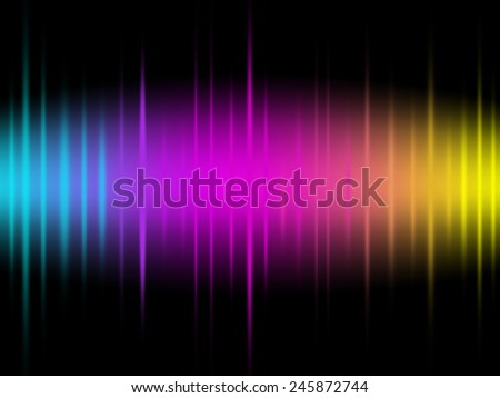 Glow and Gradient Background  - stock photo