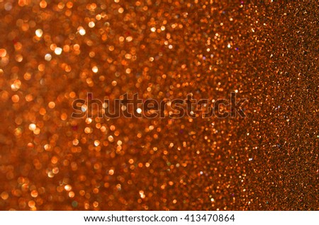 Glow glitter background. Elegant abstract background with bokeh effect - stock photo