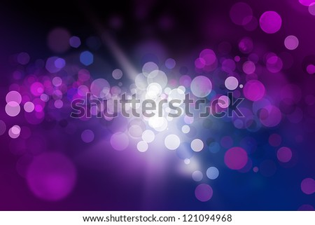 Glowing abstract black and purple background - stock photo