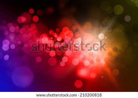 Glowing abstract vivid colour background  - stock photo