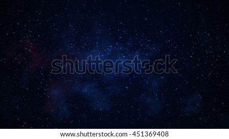 Glowing stars galaxy in space. Computer generated abstract background