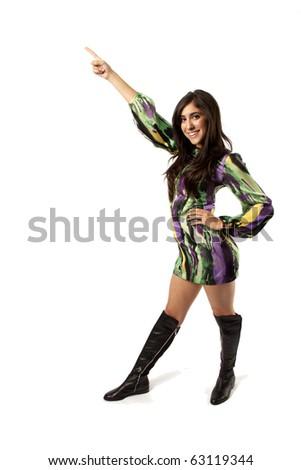 Go Go Dancer - stock photo