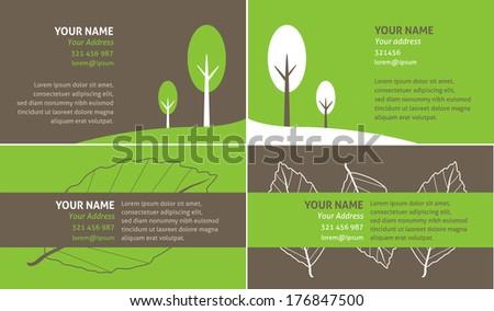 Go green business card stock illustration 176847500 shutterstock go green business card reheart Gallery
