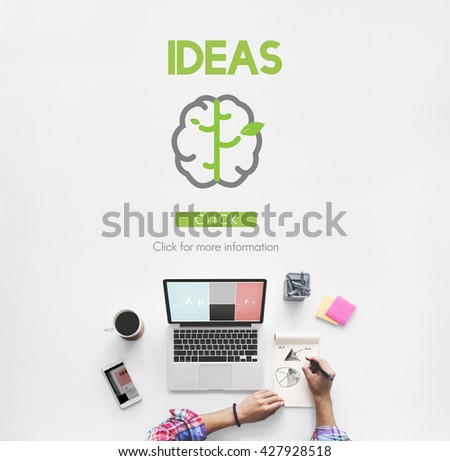 Go Green Refresh Think Green Concept - stock photo