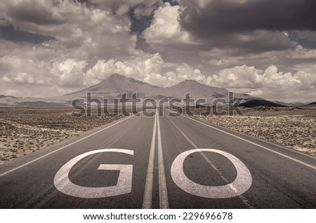 go yout target - stock photo