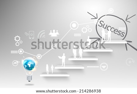 Goal of Business.  - stock photo