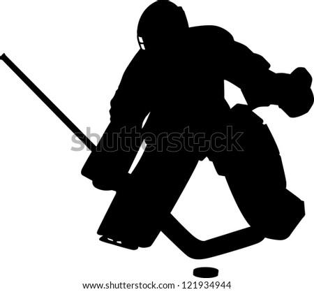 goalie - stock photo
