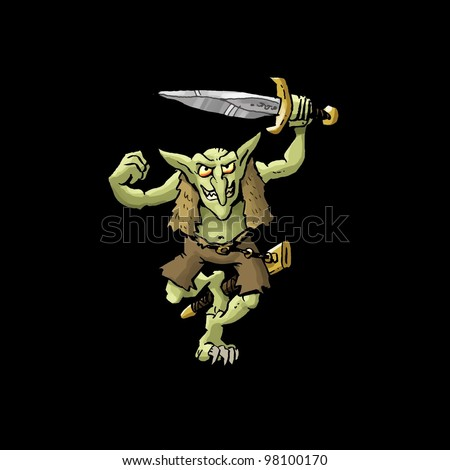 Goblin - stock photo