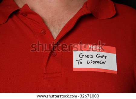 Gods Gift to Women - stock photo