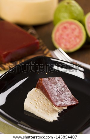 Goiabada, a candy made �¢??�¢??of guava, Brazilian candy.