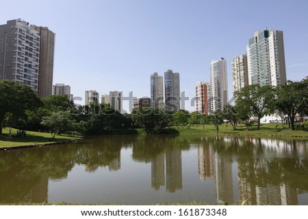 goiania, goias, brazil - stock photo