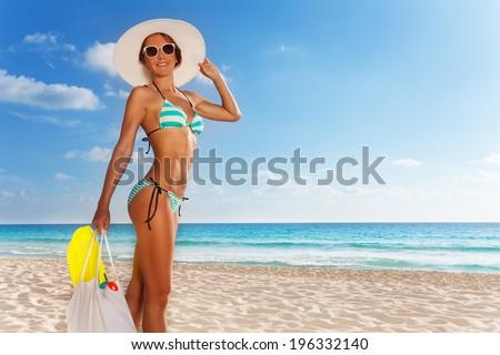 Going snorkel - stock photo