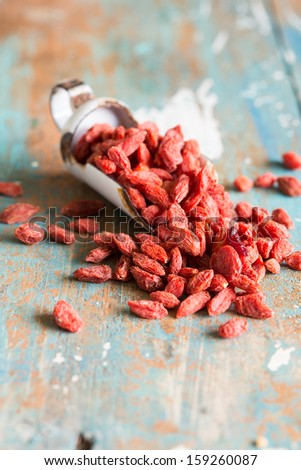 Goji berries are considered one of the superfoods