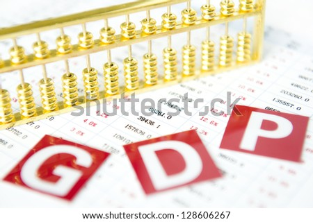 Gold abacus and statistical report