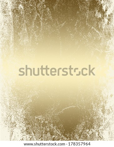 gold abstract grunge background pattern, vintage texture  - stock photo
