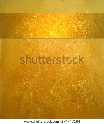 Gold background. Luxury shiny gold texture. Vintage gold background. Gold ribbon. Yellow orange background. Gold website template. - stock photo