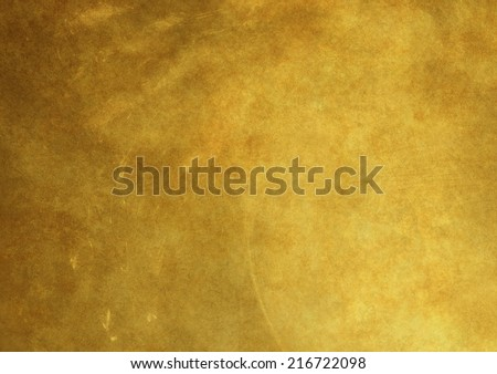 gold background old metal texture - stock photo